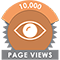 10,000 Pageviews